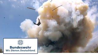 Stärkster Bunkerbrecher der Bundeswehr: Taurus schlägt ein