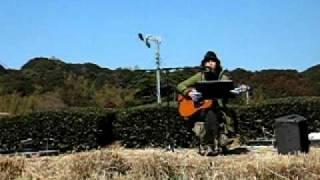 2012.02.19 掛川市こちの里梅まつりにて PVではピアノで歌っている「音...