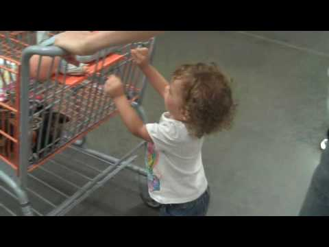 Shopping at Home Depot with Penny