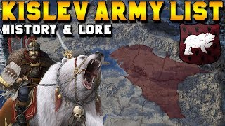 Kislev Army List (Lore, History, Campaign Starting Location, and Lords) | Total War: Warhammer 2