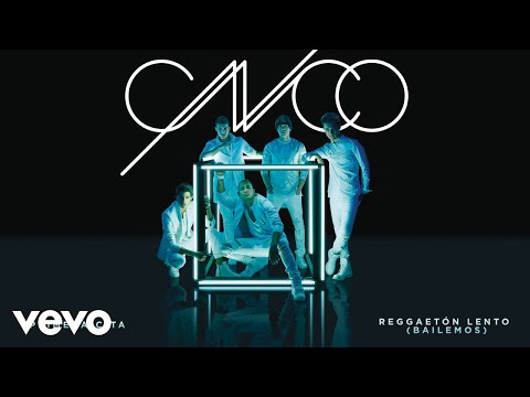 CNCO  Reggaetón Lento Bailemos  Audio