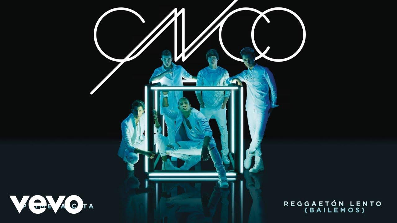 CNCO — Reggaetón Lento (Bailemos) [Cover Audio]