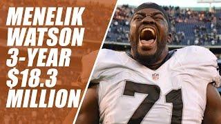 Broncos Sign Menelik Watson