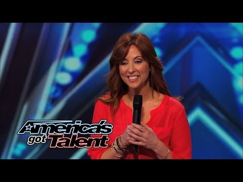 Jodi Miller: Female Comedian Explains How Guys Are Like Cats - America's Got Talent 2014