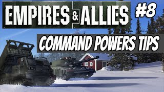 Empires & Allies part #8 - Command Powers Tips (E&A Gameplay)