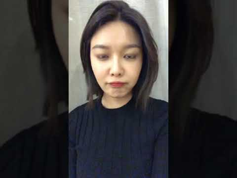171216 Sooyoung IG Live part 1(w/ Tiffany comment 0:20)