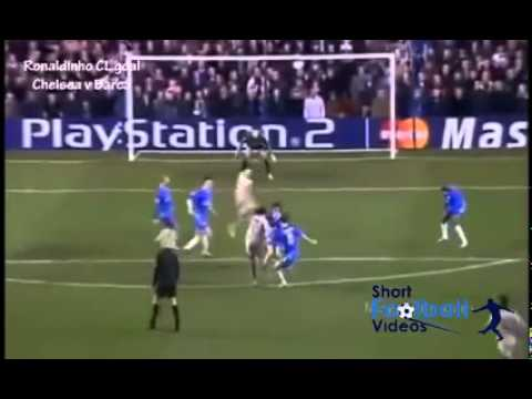 Ronaldinho vs Chelsea with a goal like no other