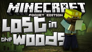 WHERES MY MOMMY!?! - Lost in the Woods Adventure - Minecraft PE (Pocket Edition)