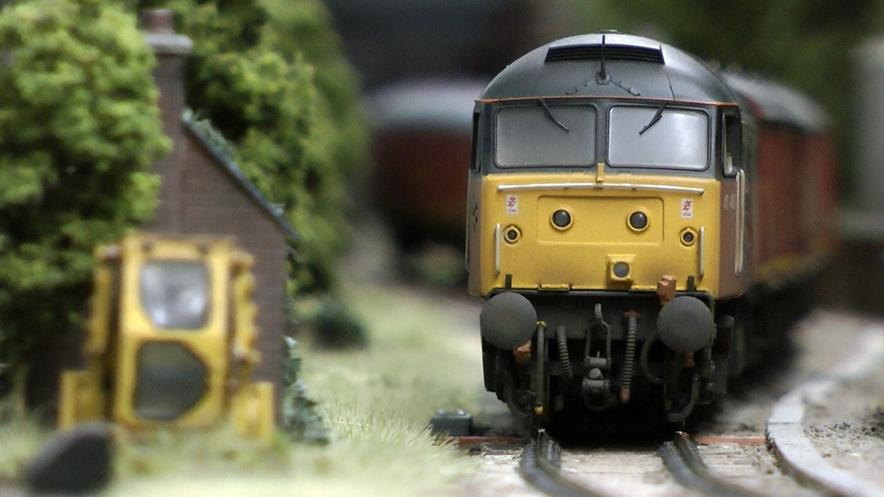 British Model Railway Layout In Oo Gauge With Cab Ride Youtube