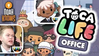 Announcing Toca Life: Office | NEW APP by Toca Boca | First Impressions!