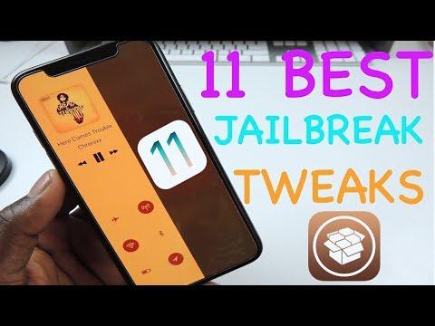 TOP 11 iOS 11 Jailbreak Tweaks PT 8