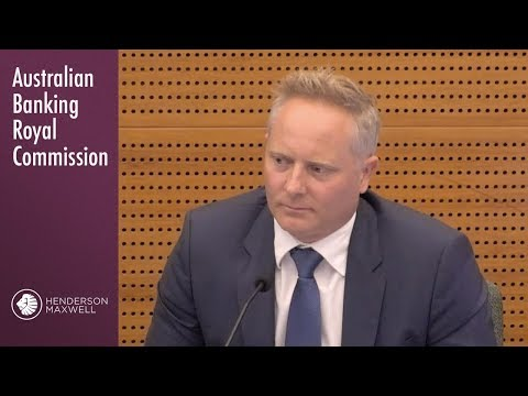 A celebrity financial planner testifies at the Banking Royal Commission