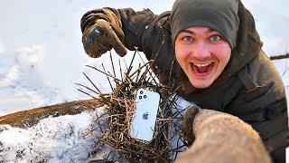Эти опасные и жуткие находки мы нашли в гнездах а там iPhone 12