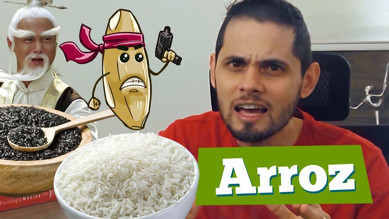 arroz branco engorda ou não