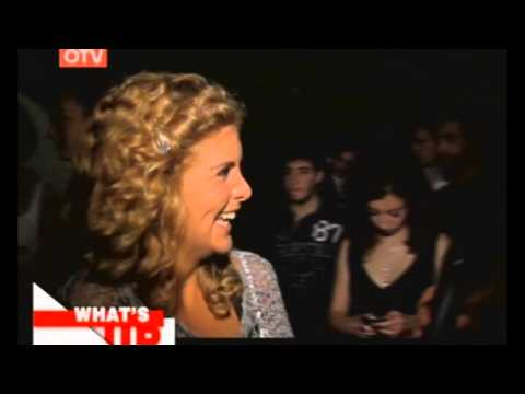 Aline Lahoud - Interview from USJ Talent Show on What's Up