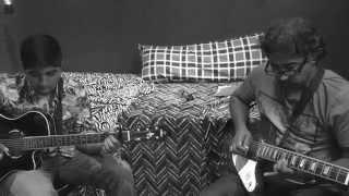 Thookkam Un Kangalai - Live Guitar Cover by Kumaran ft. Lishan