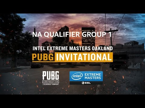 PUBG - Round 2 Match 1 - Group 1 - NA Qualifier - IEM Oakland PUBG Invitational