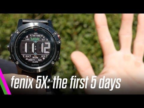 Garmin Fenix 5X Review - First 5 Days Vs Fenix 3HR