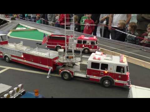RC Truck Action!  San Francisco FIRE DEPARTMENT SPECIAL
