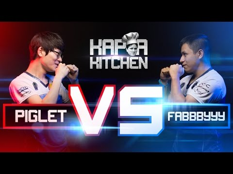 PIGLET VS. FABBBYYY | KAPPA KITCHEN