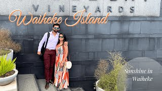 Waiheke Island | Wine Tasting Tour | Day 12 | Sanshine in New Zealand