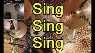 Sing Sing Sing Партия ударных   Урок игры на барабанах по Скайпу   Версия для Джаз Оркестра