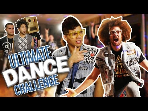 ULTIMATE DANCE CHALLENGE: REDFOO