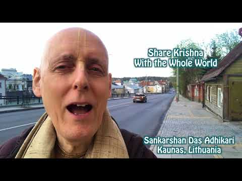 Share Krishna With the Whole World--Video for the Day--26 April 2018
