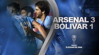 Arsenal vs. Bolivar [3-1]   RESUMEN   Fecha 6   CONMEBOL Sudamericana 2021