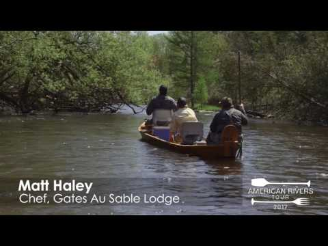 American Rivers Tour - Colin Ambrose on the Au Sable River - Hooked on Fishing