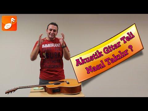 Akustik Gitar Teli Nasıl Değiştirilir?
