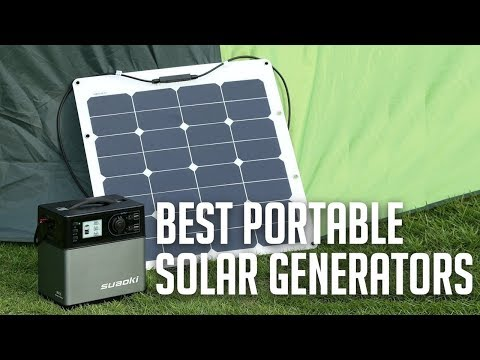 Best Portable Solar Generators 2019