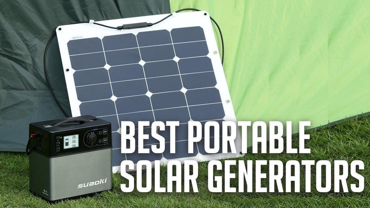 Best Solar Generators 2019 Best Portable Solar Generators 2019   YouTube
