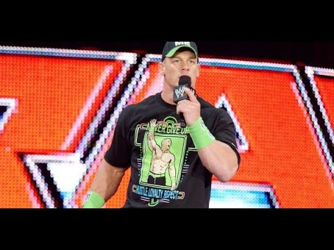 How i Think John Cena Should  Be Booked IN Today WWE