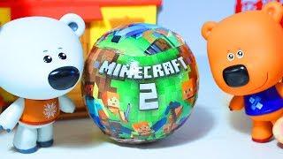 Мишки Ми-ми-мишки Шар ЛОЛ Майнкрафт-2 Кеша удивил Тучку Minecraft-2 LOL