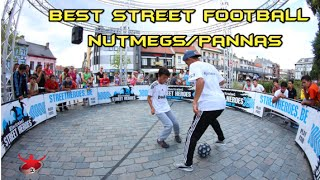 Best ●Street Football● nutmegs/pannas