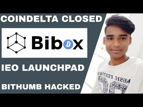 Coindelta Shutting Down   Bithumb Exchange $13M EOS Stolen   Bibox Exchange Launchpad  