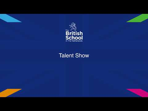 Talent Show at The British School in the Netherlands - 2018