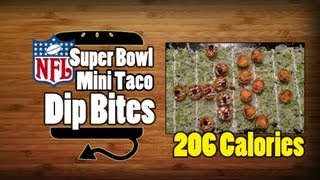 7 Layer Taco Dip Bites Recipe - Hellthyjunkfood
