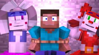 'Join Us For A Bite'   FNAF Sister Location Animated Minecraft Music Video