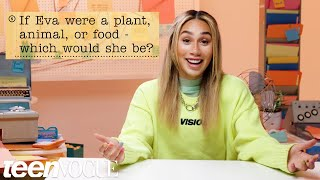 Eva Gutowski Guesses How 1,468 Fans Responded to a Survey About Her | Teen Vogue