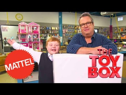 Unboxing Imaginext's Ultra T-Rex with Eric Stonestreet and Noah Ritter | The Toy Box | Mattel