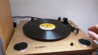 ion Max Lp Turntable Performance.