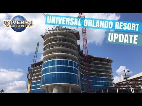 Universal's Aventura Hotel Update, HHN Merchandise, Volcano Bay and more at Universal Orlando!