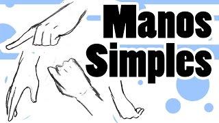 Como dibujar Manga | Varias Manos Simples