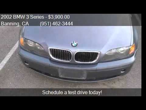 2002 BMW 3 Series 325i for sale in Banning, CA 92220 at Affo