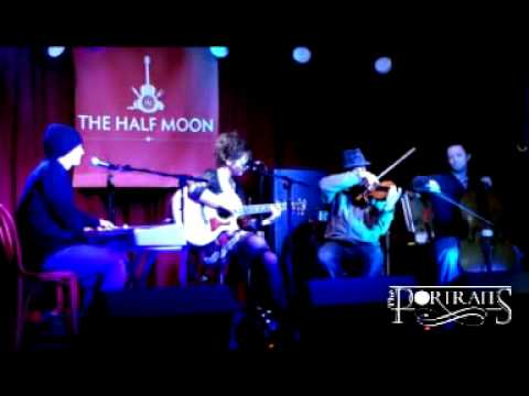 "The Portraits, ""Little Flame"" live @ Half Moon Putney 16th Jan 2012"