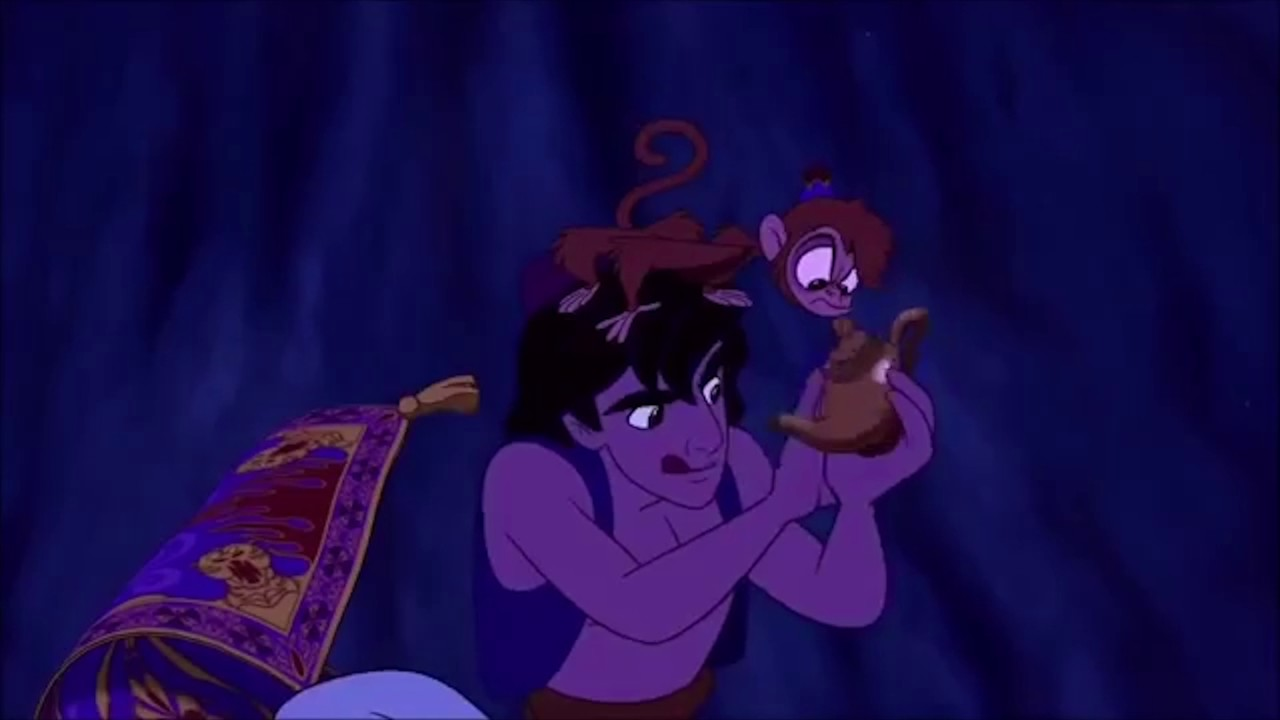 Aladdin Rubs the Wrong Genie Lamp - YouTube for Magic Lamp Aladdin Disney  181obs