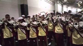 bcu trumpets in honda tunnel