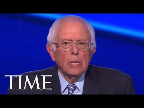 Bernie Sanders Says He's 'Feeling Great' When Asked About Recent Health Scare During Debate | TIME thumbnail